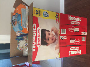Size 4 Huggies Snug and Dry Diapers