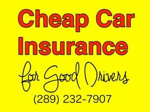 Cheap Car Insurance For Good Drivers (289) 232-7907