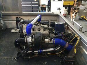 Jet boat motor