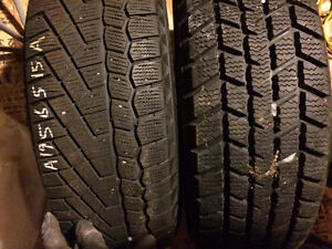 SNOW TIRES -set 4 Sale 195/65 R15