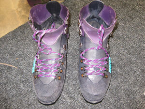Ice Climbing Boots and Crampons