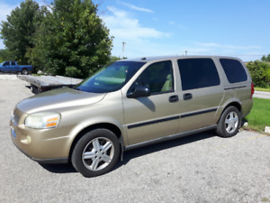 """2005 Chevrolet Uplander For Sale """"AS IS"""""""