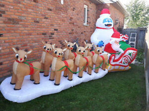 16 foot inflatable xmas decoration