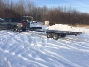 8x17ft Shoreland'r power sports trailer