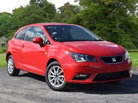 SEAT Ibiza 1.0 SE (Tech Pack) SportCoupe 3dr (red) 2016