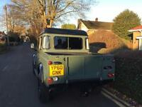 Land Rover 110 Defender 2.4TDi Double Cab Pickup