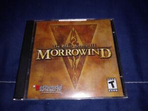 The Elder Scrolls III Morrowind (PC)(Parfait état)