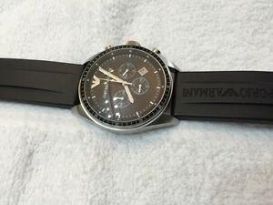 Armani chronograph watch