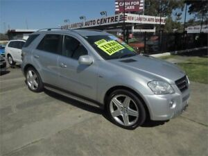 2010 Mercedes-Benz ML300 CDI W164 09 Upgrade Sports Luxury (4x4) Silver 7 Speed Automatic G-Tronic