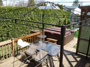 Structure de gazebo 10 x 10 pieds