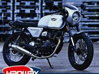 Hanway Muscle 125cc Cafe Racer Retro Classic Style Motorcycle