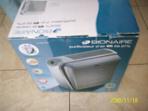 AIR CLEANER Bionaire HEPA 99.97% air Cleaner