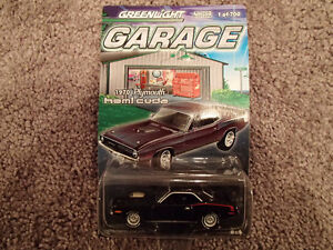 Greenlight Garage 1970 Plymouth HEMI Cuda Limited Edition