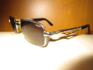 Police Designer Sunglasses 2374 Made in Italy New Rare Mens