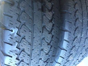 4 Bridgestone All Terrain Truck Tires Kingston Kingston Area image 2