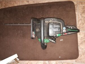 """14"""" chain saw, great for small jobs price reduced."""