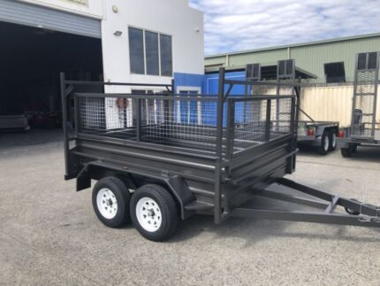 NEW AUSTRALIAN MANUFACTURED 8X5 TANDEM TRAILER WITH 600MM CAGE! Brisbane Region Preview
