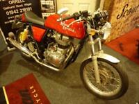 Royal Enfield Continental GT 535 Launch Bike 13/63reg 655 miles Chass No 3