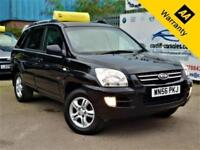 2006 KIA SPORTAGE 2.0 XS CRDI 139 BHP! P/X WELCOME+HEATED LEATHER+DVD PLAYER+4WD