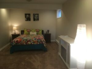 Beautiful , furnished one bedroom suite