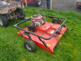 Quad atv quad x grass mower topper cutter farm livestock tractor, used for sale  Motherwell, North Lanarkshire
