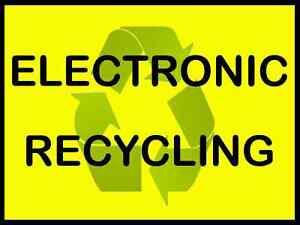 FREE PICK UP OF ALL ELECTRONIC ITEMS