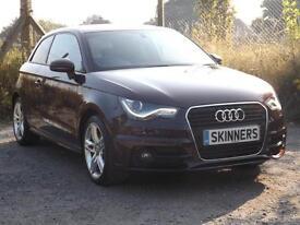 Audi A1 Tfsi S Line 3dr PETROL MANUAL 2014/63
