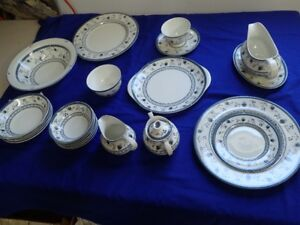 Cambridge pattern Royal Doulton China 12 piece settings &more