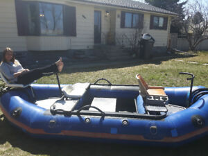Inflatable Drift Boat For Sale.