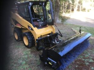 BLUE DIAMOND 6' Power Broom Sweeper - For Sale