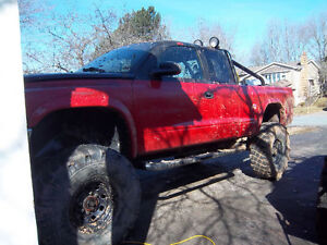 2000 Dodge Dakota red Pickup Truck