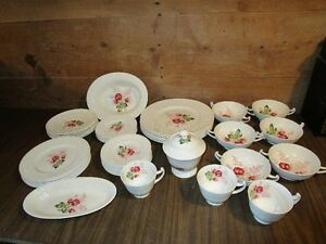 Antique Dish Set