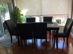 Formal Dining Table Set (Table + 6 Chairs)