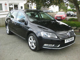 2012/12 Volkswagen Passat 2.0 TDI BlueMotion Tech SE Estate~£30 TAX~ AVG 61 MPG
