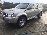 Nissan Navara D22 brand new MOT