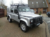 2006 Land Rover 110 Defender 2.5Td5 Double Cab Silver EDITION NO VAT
