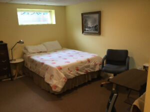 Furnished Basement suite ,short term or full time