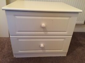 Bed side drawer unit