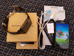 Samsung Galaxy s4 and Gear 2 combo