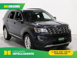 2017 Ford Explorer XLT AWD MAGS 7 PASSAGERS CUIR TOIT OUVRANT CAMERA