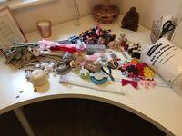 Bundle of craft items