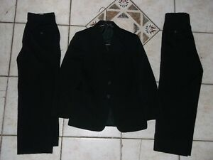 2 NICE BLACK  SUIT FOR SALE              7-8 X and 10-12
