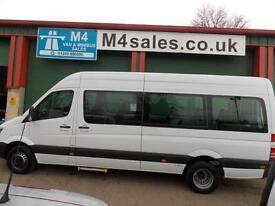Mercedes Sprinter 513cdi,17st transfer minibus,PSV'd,A/C.