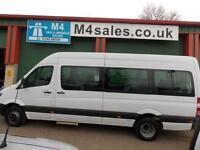 Mercedes Sprinter 513cdi,17 Seat Transfer Minibus, A/C.