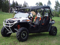 2012 AS NEW POLARIS RAZOR 4 SEATER RZRS POWER STEERING 40 HOURS