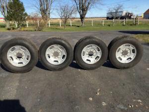 Set pneu d'hiver