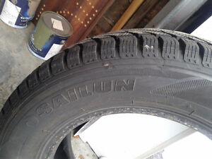 245/65/R17 Winter tires 400 OBO Cornwall Ontario image 3