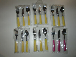 Pottery Barn Kids Utensils - 5 place settings total