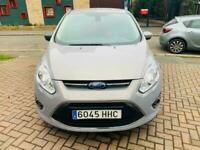 2012 grey ford grand c max 1.6 petrol titanium 5 dr left hand drive