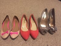 Women's shoes size 5 £15 for all